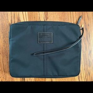 Coach nylon laptop sleeve